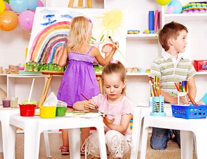 Beliebt L'atelier peinture 'Anniversaire' pour 7 enfants avec l'Atelier  JF52